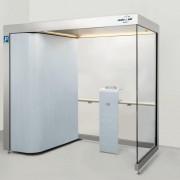 4 fős Design Line egészségvédelmi dohányzókabin (ST 203)