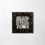 Zebra bőr falikép II.