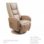 Pulsar Relax fűthető masszázs fotel