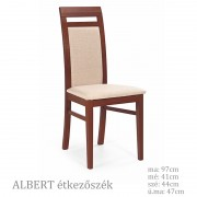 Albert étkezőszék