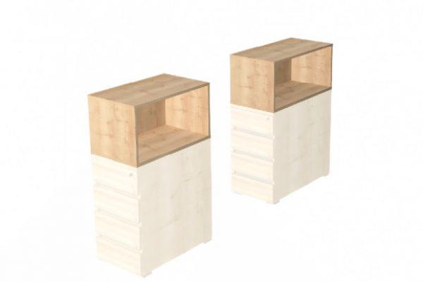 Rátét szekrény asztalmagas konténerekre [Extend]